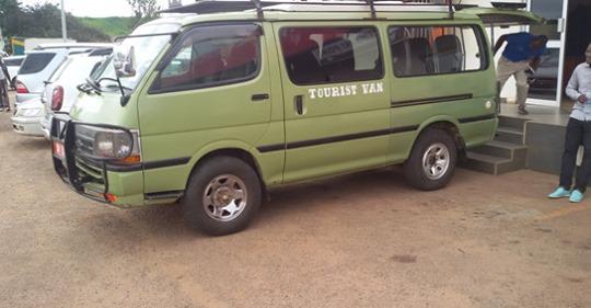 4x4 safari van self drive